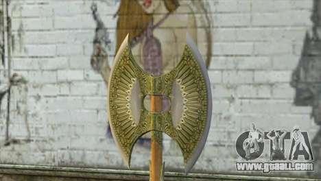Legendary Combat Axe for GTA San Andreas second screenshot