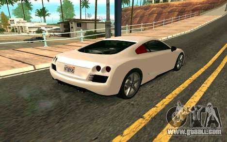 GTA V Obey 9F Version 2 FIXED for GTA San Andreas left view