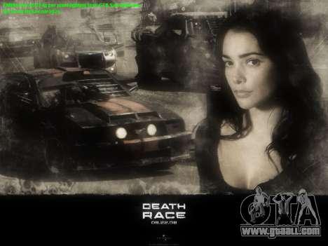 Boot screens Death Race for GTA San Andreas third screenshot
