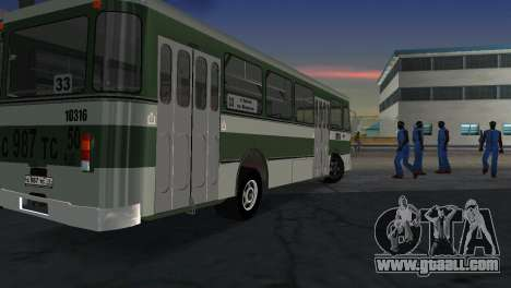 LIAZ 677 for GTA Vice City back left view