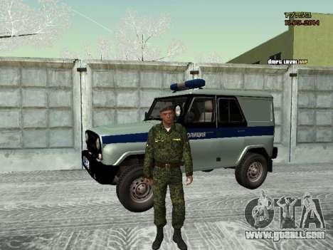 Skin fighter MIA for GTA San Andreas third screenshot