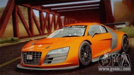 Audi R8 LMS v2.0.4 DR for GTA San Andreas