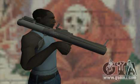 M72 LAW for GTA San Andreas third screenshot