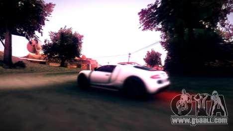 Adder of GTA V for GTA San Andreas back view