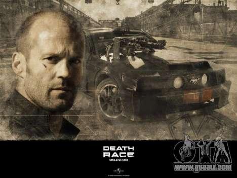 Boot screens Death Race for GTA San Andreas