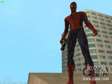 Spider-man for GTA San Andreas third screenshot