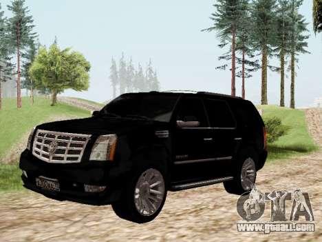 Cadillac Escalade 2010 for GTA San Andreas