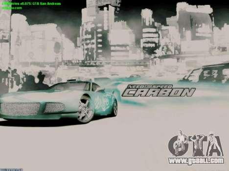 Loading Screens NFS for GTA San Andreas second screenshot