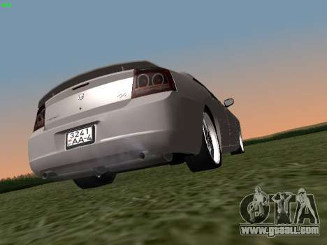 Dodge Charger RT 2008 for GTA San Andreas left view