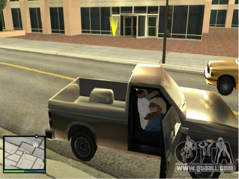GTA 5 HUD v2 for GTA San Andreas forth screenshot