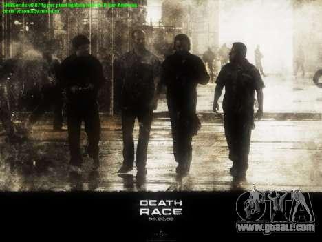 Boot screens Death Race for GTA San Andreas second screenshot
