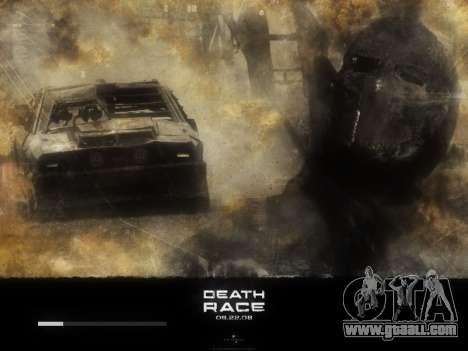 Boot screens Death Race for GTA San Andreas sixth screenshot