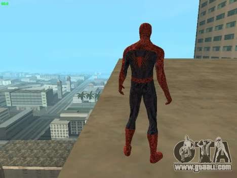 Spider-man for GTA San Andreas fifth screenshot