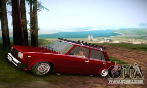 Vaz 21053 for GTA San Andreas back view
