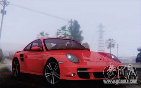 Porsche 911 Turbo for GTA San Andreas side view