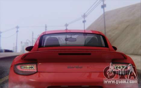Porsche 911 Turbo for GTA San Andreas engine
