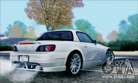 Honda S2000 Daily for GTA San Andreas wheels