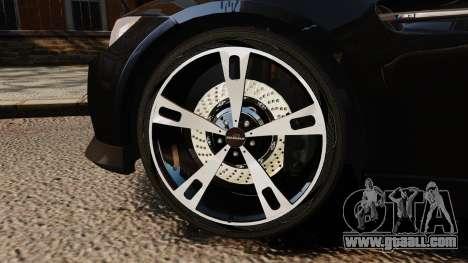 BMW M3 E92 AC Schnitzer ACS3-Sport for GTA 4 back view