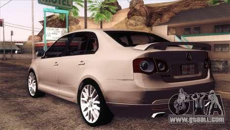 Volkswagen Bora GLI for GTA San Andreas left view