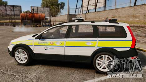 Volvo XC70 Emergency Response Unit [ELS] for GTA 4 left view