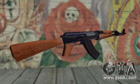 AK47 for GTA San Andreas second screenshot
