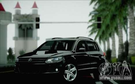 Volkswagen Tiguan 2012 for GTA San Andreas upper view