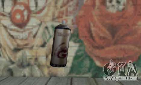Montana Gold Spray for GTA San Andreas