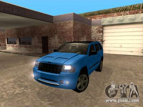 Jeep Grand Cherokee SRT8 Restyling M for GTA San Andreas