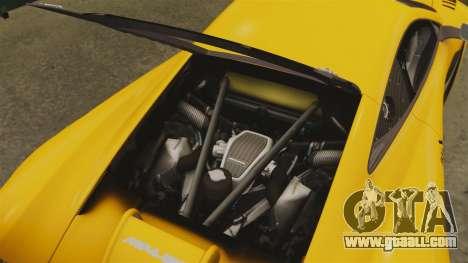 McLaren MP4-12C GT3 for GTA 4 side view