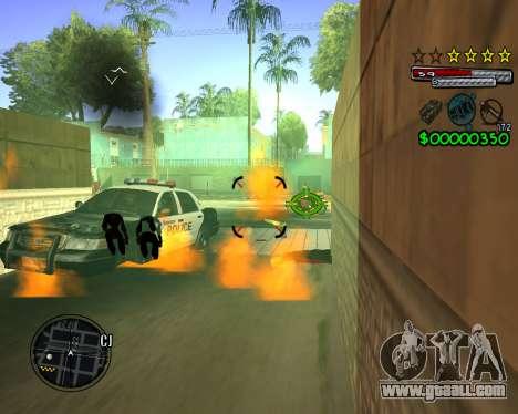 C-HUD by Santoro for GTA San Andreas forth screenshot