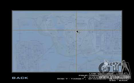 HQ Radar by Rockstar for GTA San Andreas third screenshot