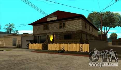 Modern house of Sijia v1.0 for GTA San Andreas