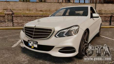 Mercedes-Benz E63 AMG 2014 v2.0 for GTA 4