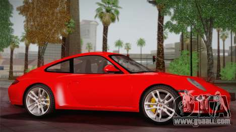 Porsche 911 Carrera for GTA San Andreas left view