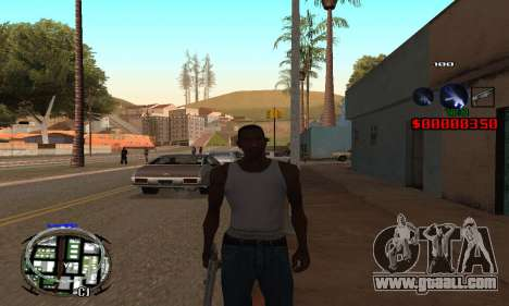 C-HUD (LSPD) for GTA San Andreas