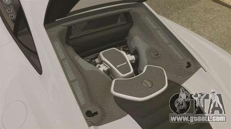 McLaren MP4-12C 2012 [EPM] for GTA 4 inner view