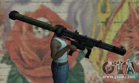 SMAW of BF3 for GTA San Andreas third screenshot