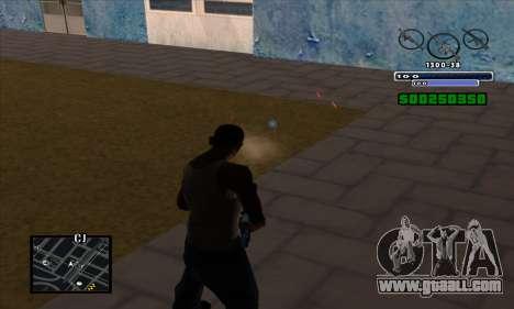 C-HUD for GTA San Andreas forth screenshot