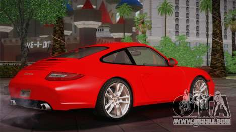 Porsche 911 Carrera for GTA San Andreas back left view