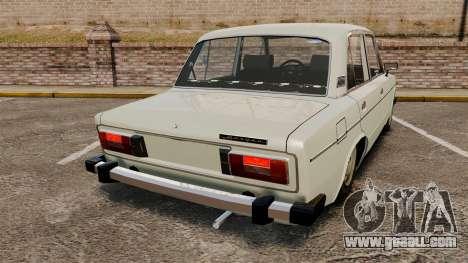 VAZ-2106 Lada for GTA 4 back left view