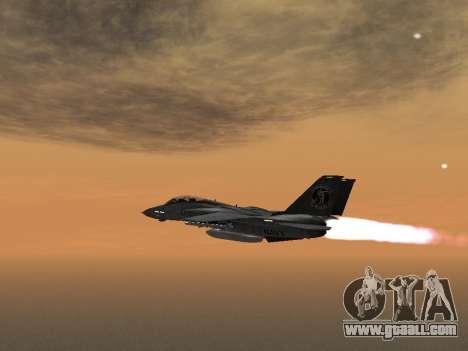 F-14 Tomcat HQ for GTA San Andreas