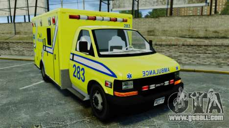 Brute New Liberty Ambulance [ELS] for GTA 4