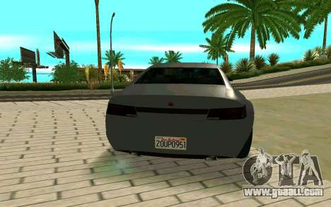 GTA V Fugitive Version 2 FIXED for GTA San Andreas back left view