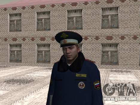 Pak police officers in the winter uniforms for GTA San Andreas forth screenshot