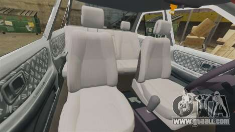 Nissan Tsuru for GTA 4 side view