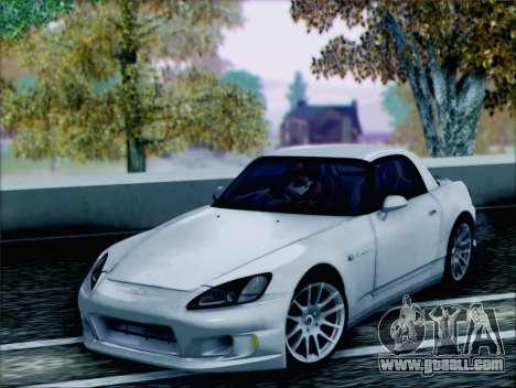 Honda S2000 Daily for GTA San Andreas back view