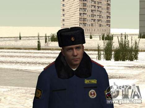 Pak police officers in the winter uniforms for GTA San Andreas