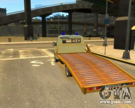 Gazelle Evacuator DPS for GTA 4 left view