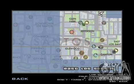 HQ Radar by Rockstar for GTA San Andreas forth screenshot