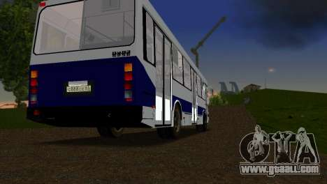 LIAZ-5256 for GTA Vice City right view